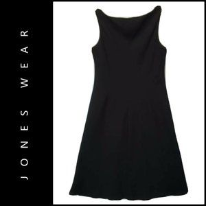 Jones Wear Dresses - Jones Wear Women's Sleeveless Shift Dress Black 8